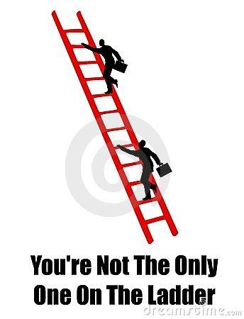 Clip Art Ladder Climb Success