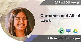 Corporate and Allied Laws
