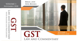 GST Law And Commentary With Analysis Procedures