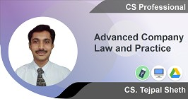 Advance Company Law and Practise