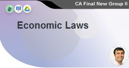 Economic Laws - Elective Subject 100 Marks