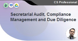 Secretarial Audit, Compliance Management and Due Diligence