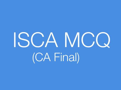 ISCA MCQ