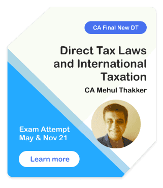Direct Tax Laws DT