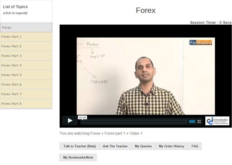 Forex coaching in india