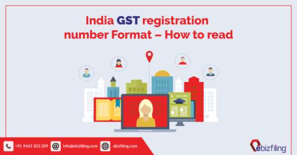 India GST registration number Format - How to read
