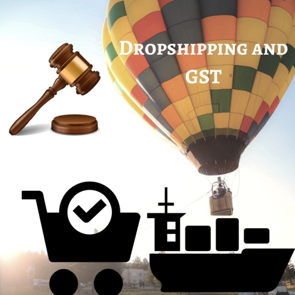 How to determine the applicability of GST on the drop shipping