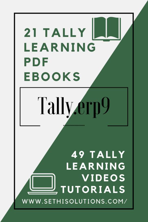 Online tally erp9 learning - Info Technology Forum