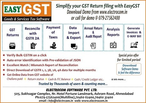 Best gst return filing software - GST Forum