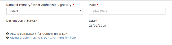 Online filing of letter of undertaking lut under gst once you complete the form file the lut with dsc evc as the case may be spiritdancerdesigns Image collections