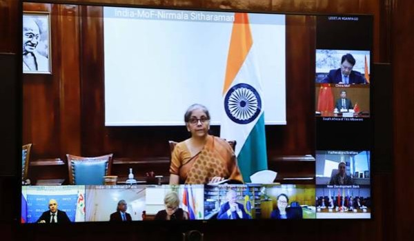 FM Smt. Nirmala Sitharaman attends 1st BRICS Finance Ministers and Central Bank Governors Meeting