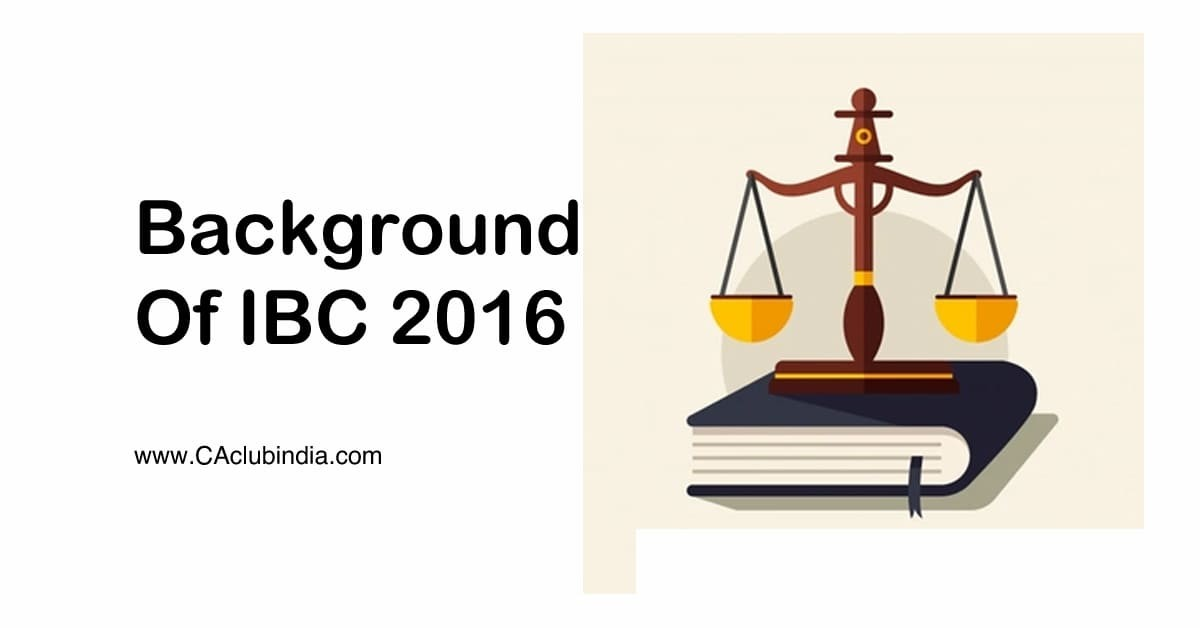 Background of IBC 2016
