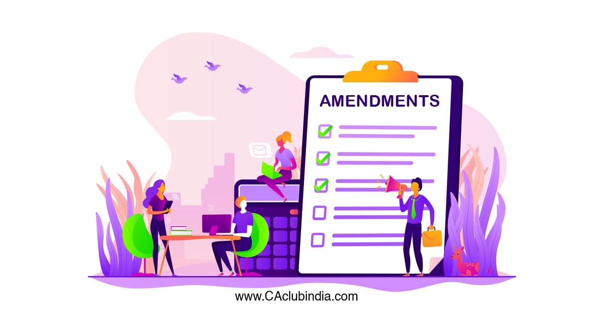 Amendment in Schedule III - Division I (IGAAP) - Companies Act, 2013