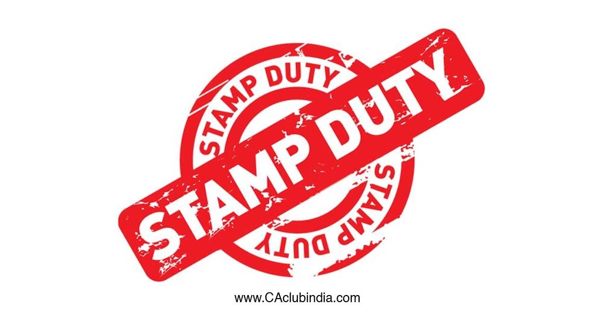 Stamp duty on Issue and Transfer of Shares and Debentures