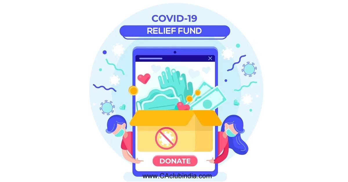 COVID-19 Relief Fund by CAclubindia