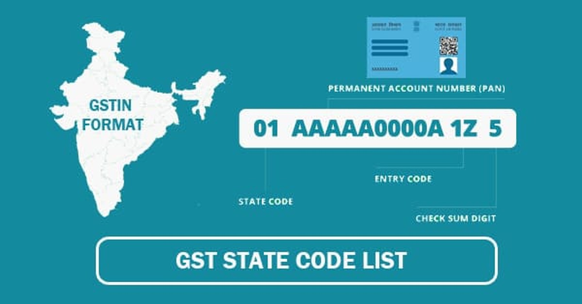 Complete GST State Code List| Know your GST State Code