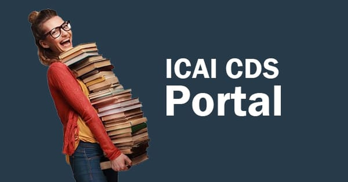 ICAI CDS Portal - Login, Coupons, and Orders