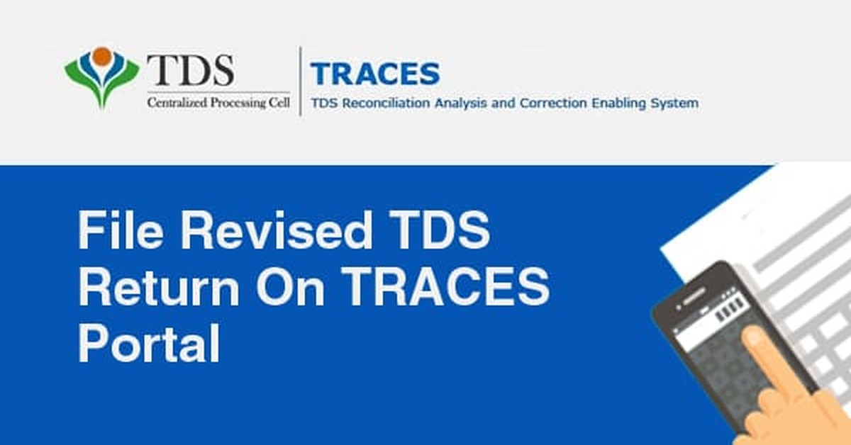 How to file a revised TDS return on TRACES Portal?