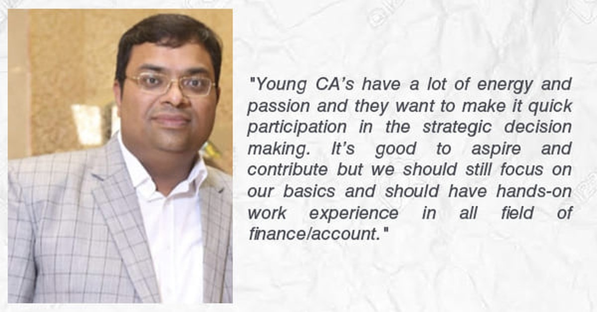 CCI in an exclusive talk with Ameet Guptaa | CFO- Hexagon Private Limited