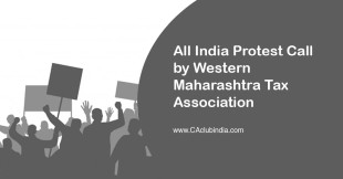 All India Protest Call by Western Maharashtra Tax Association