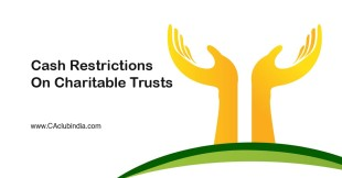 Cash Restrictions on Charitable Trusts