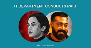 Income Tax Department raid properties Anurag Kashyap Taapsee Pannu