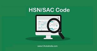 HSN Code SAC mandatory invoices turnover more than Rs 5 crore wef 1st April 2021