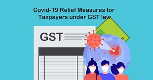 Covid-19 Relief Measures for Taxpayers under GST law